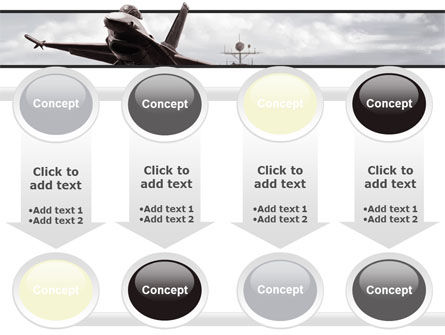 General Dynamics F-16 Fighting Falcon Starting With The Carrier PowerPoint Template Slide 18
