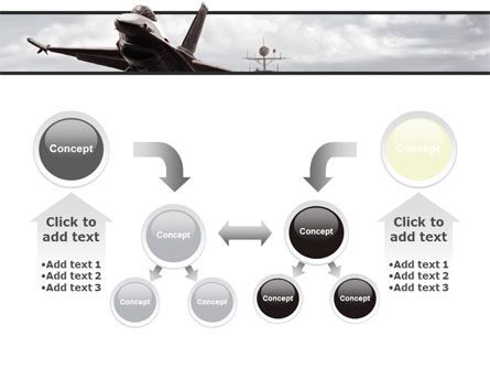 General Dynamics F-16 Fighting Falcon Starting With The Carrier PowerPoint Template Slide 19