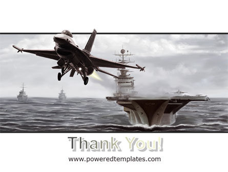 General Dynamics F-16 Fighting Falcon Starting With The Carrier PowerPoint Template Slide 20
