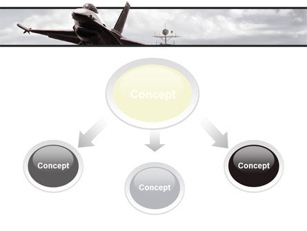 General Dynamics F-16 Fighting Falcon Starting With The Carrier PowerPoint Template Slide 4