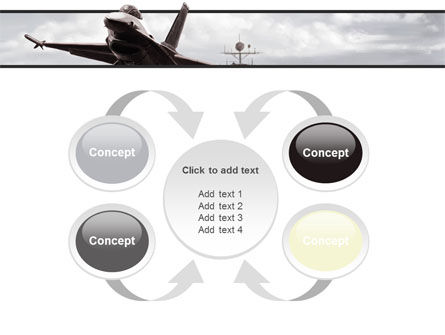 General Dynamics F-16 Fighting Falcon Starting With The Carrier PowerPoint Template Slide 6