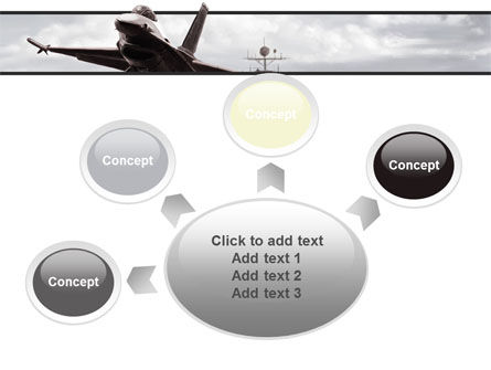 General Dynamics F-16 Fighting Falcon Starting With The Carrier PowerPoint Template Slide 7