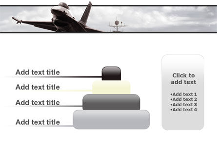 General Dynamics F-16 Fighting Falcon Starting With The Carrier PowerPoint Template Slide 8