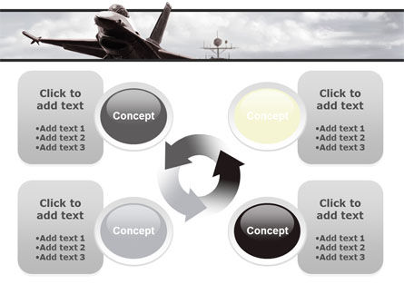 General Dynamics F-16 Fighting Falcon Starting With The Carrier PowerPoint Template Slide 9