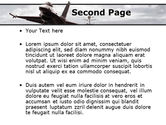General Dynamics F-16 Fighting Falcon Starting With The Carrier PowerPoint Template#2
