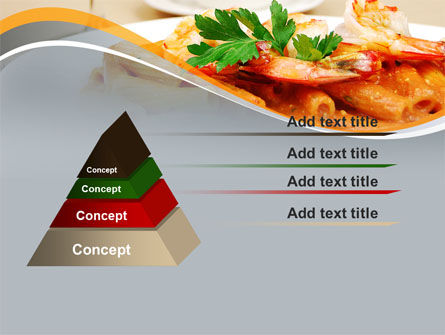Pasta With Shrimps PowerPoint Template Slide 12