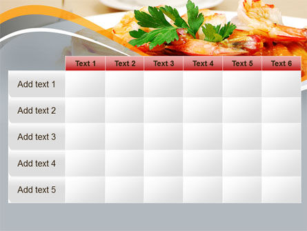 Pasta With Shrimps PowerPoint Template Slide 15