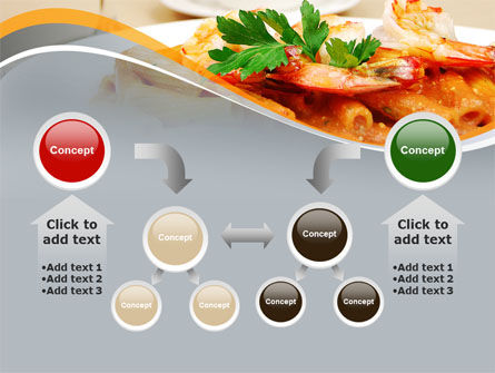 Pasta With Shrimps PowerPoint Template Slide 19