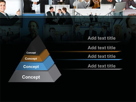 Business Theme Collage PowerPoint Template Slide 4