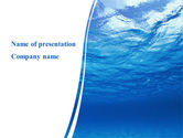 Nature & Environment: Picture Taken Under Water PowerPoint Template #09905