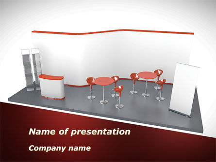 Consulting: Bar Interior Model PowerPoint Template #09906