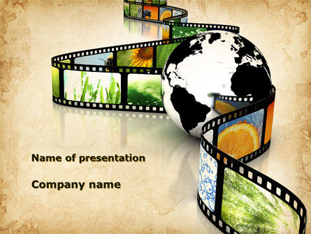 Nature Documentary Movies Powerpoint Template Backgrounds 09907