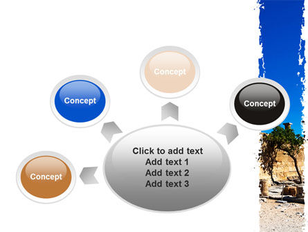 Ruins Of Ancient Greek Temple PowerPoint Template Slide 7