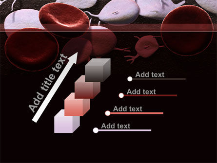 Red And White Blood Cells PowerPoint Template Slide 14