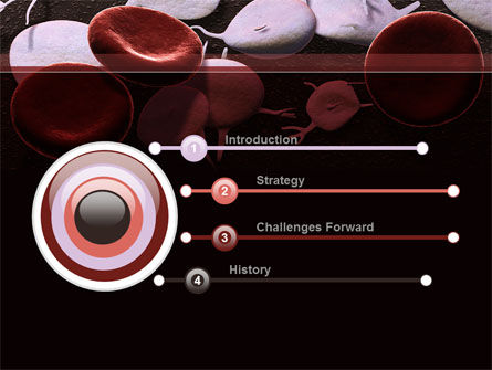 Red And White Blood Cells PowerPoint Template, Slide 3, 09912, Medical — PoweredTemplate.com