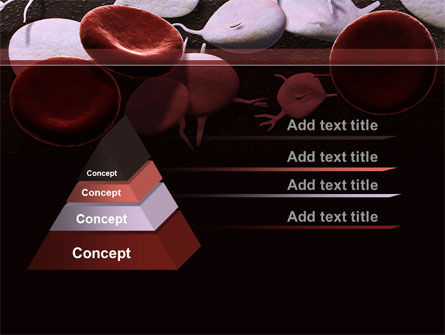Red And White Blood Cells PowerPoint Template, Slide 4, 09912, Medical — PoweredTemplate.com