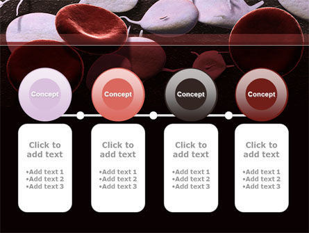 Red And White Blood Cells PowerPoint Template Slide 5