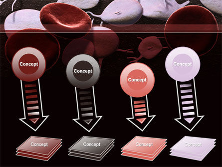 Red And White Blood Cells PowerPoint Template Slide 8
