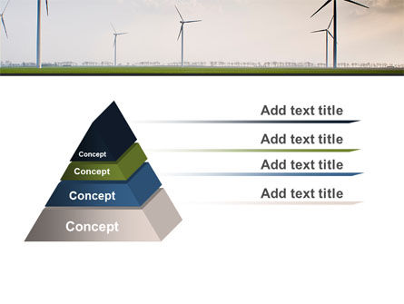 Wind Energy Windmills On Field PowerPoint Template Slide 12