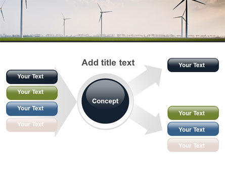 Wind Energy Windmills On Field PowerPoint Template Slide 14