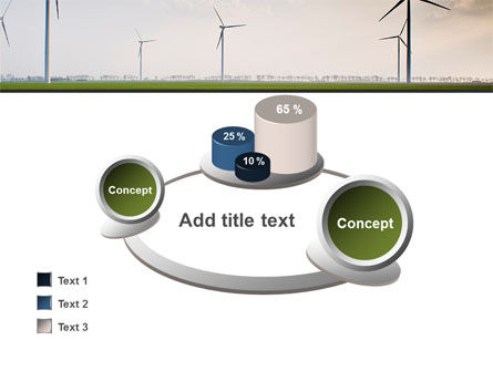 Wind Energy Windmills On Field PowerPoint Template Slide 16