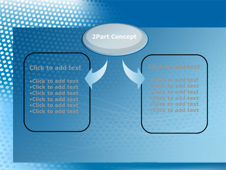 Blue Abstract Grid surface PowerPoint Template Slide 4