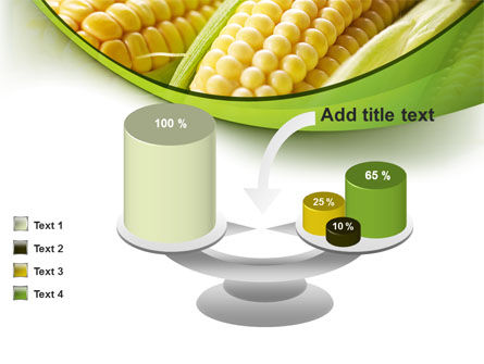 New Crop Of Maize PowerPoint Template Slide 10