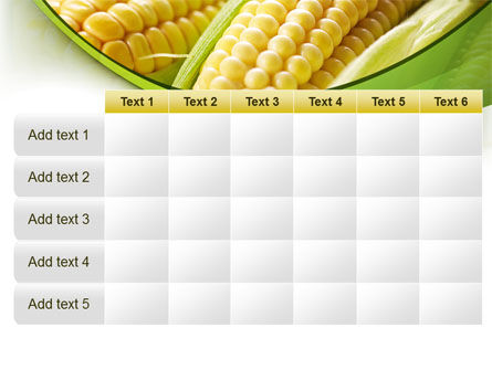 New Crop Of Maize PowerPoint Template Slide 15