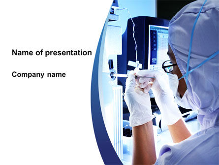 Hardware Medical Tests PowerPoint Template