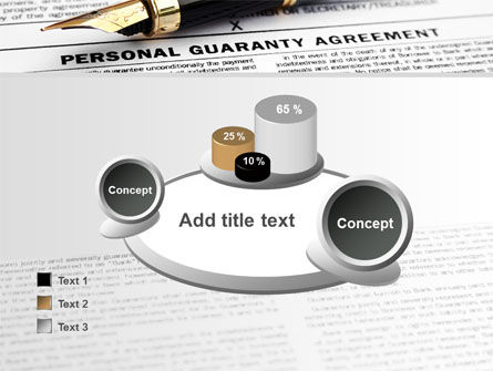 Personal Guaranty Agreement PowerPoint Template Slide 16