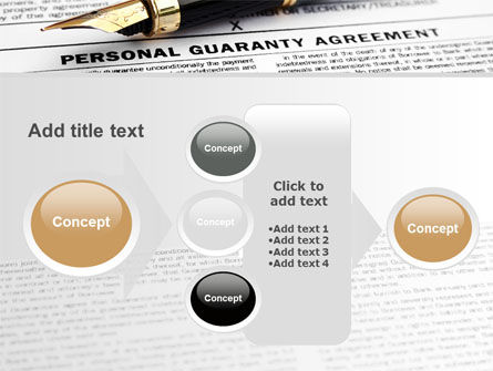 Personal Guaranty Agreement PowerPoint Template Slide 17