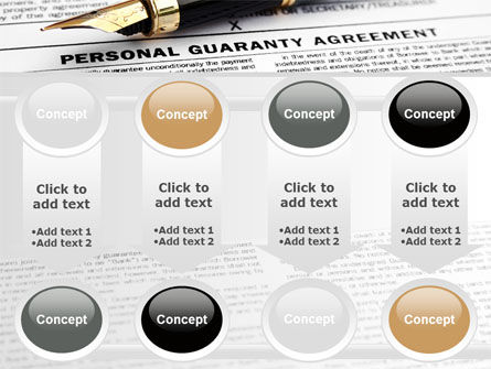 Personal Guaranty Agreement PowerPoint Template Slide 18