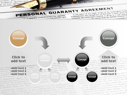 Personal Guaranty Agreement PowerPoint Template Slide 19