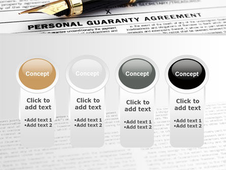 Personal Guaranty Agreement PowerPoint Template Slide 5
