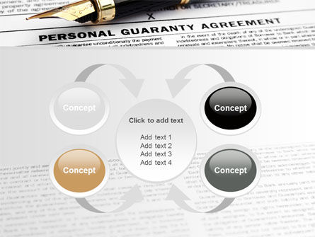 Personal Guaranty Agreement PowerPoint Template Slide 6