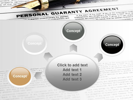 Personal Guaranty Agreement PowerPoint Template Slide 7