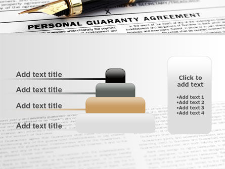 Personal Guaranty Agreement PowerPoint Template Slide 8