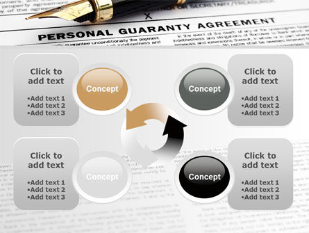 Personal Guaranty Agreement PowerPoint Template Slide 9