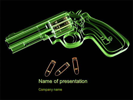 Inside The Revolver PowerPoint Template