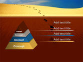 Traces In The Sand PowerPoint Template#12