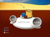 Traces In The Sand PowerPoint Template#16