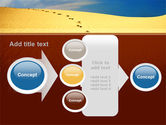Traces In The Sand PowerPoint Template#17