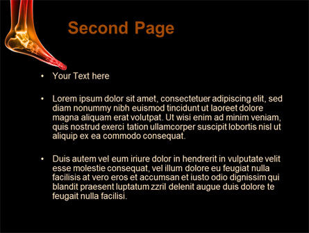 Ankle Radiography PowerPoint Template Slide 2