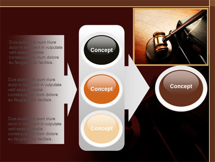 Mallet Of Judge PowerPoint Template Slide 11