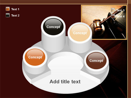 Mallet Of Judge PowerPoint Template Slide 12