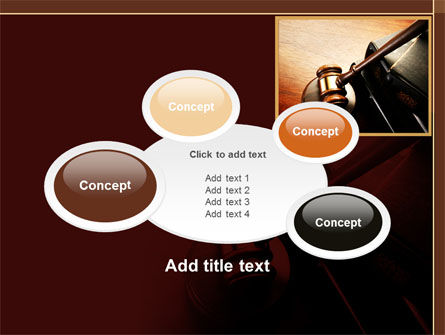 Mallet Of Judge PowerPoint Template Slide 16