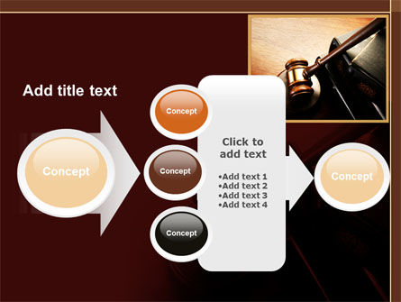 Mallet Of Judge PowerPoint Template Slide 17