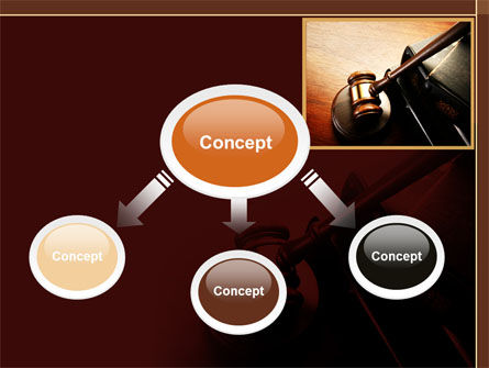 Mallet Of Judge PowerPoint Template Slide 4