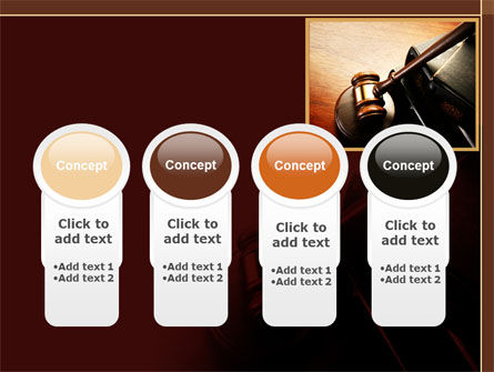Mallet Of Judge PowerPoint Template Slide 5
