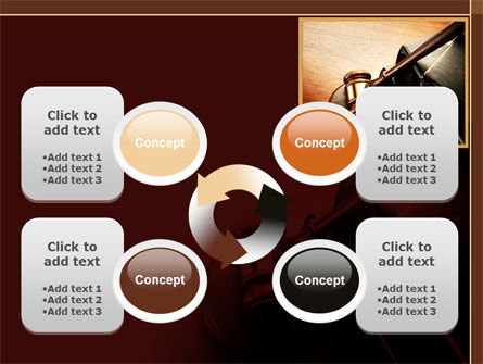 Mallet Of Judge PowerPoint Template Slide 9